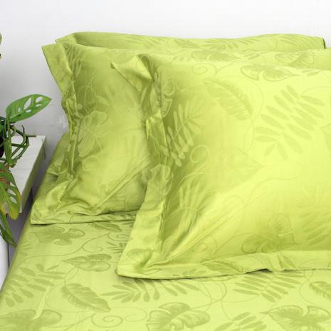 Bedsheet jacquard lime terang