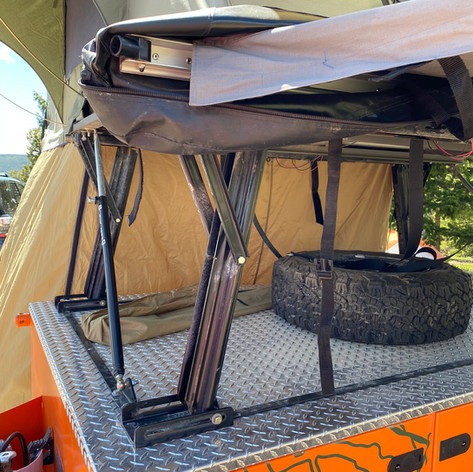 ELECTRONIC TENT LIFT SYSTEM