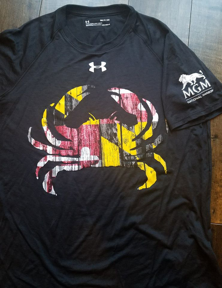 MGM Grand Under Armour Locker T-Shirt with Performance Ink