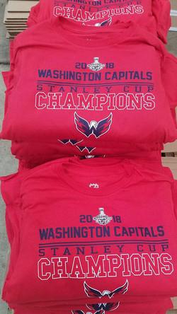 Washington Capitals Stanley Cup Champion T-Shirts