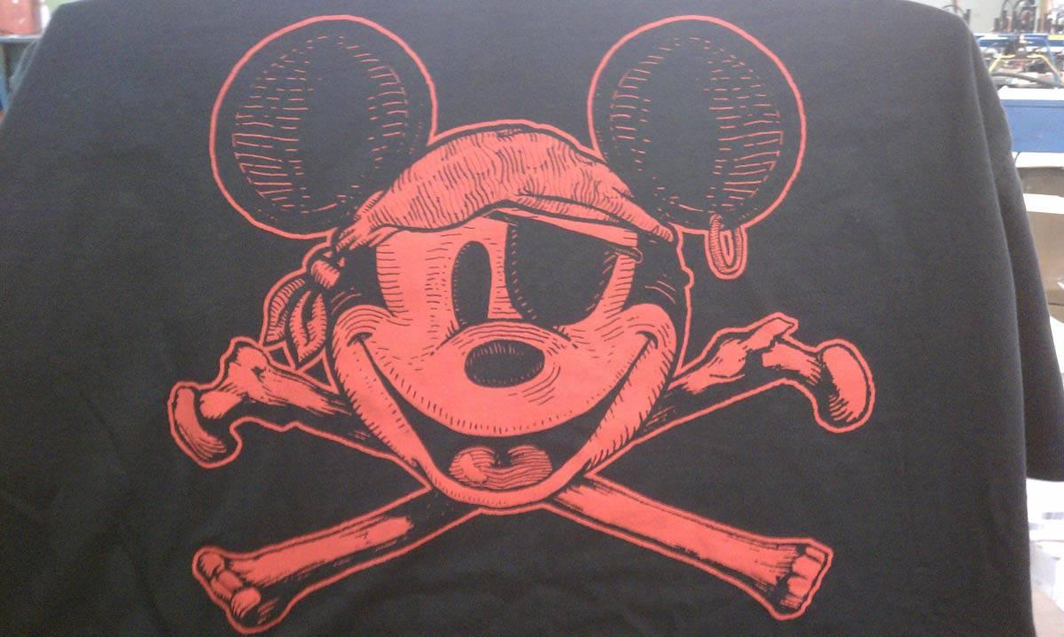 Disney Screen Printing