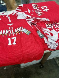 Maryland Terps Lacrosse Under Armour Uniforms