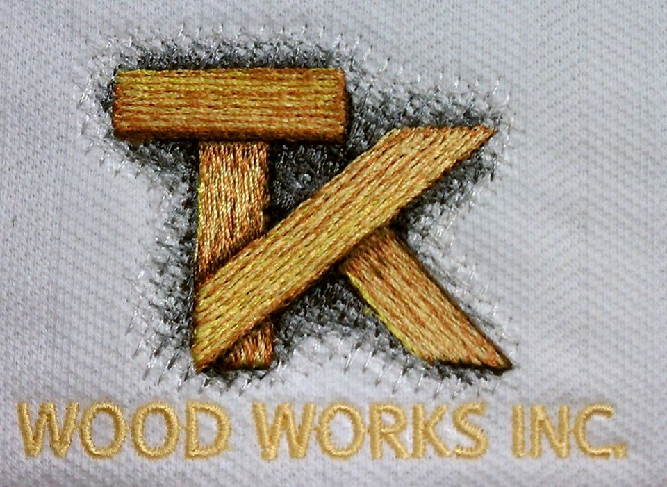 Award winning Woodworks Embroidery