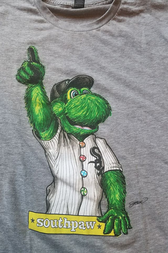 Southpaw T-Shirt Game Day Giveaway Screen Print