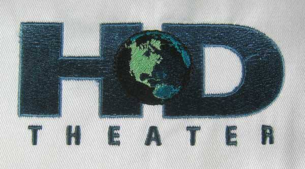 Discovery Channel Embroidery