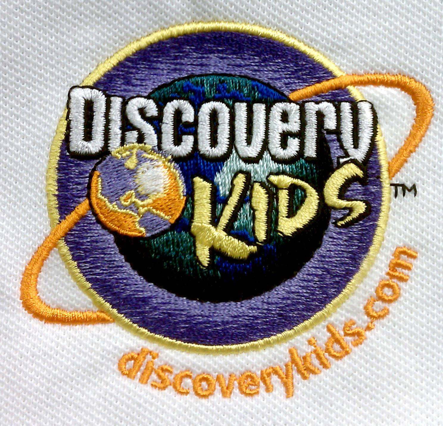 Discovery Kids Embroidery