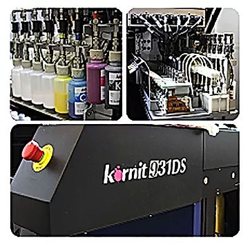 Direct to Garment DTG Digital Printing
