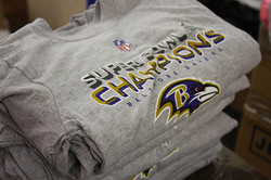 Baltimore Ravens Super Bowl Gear