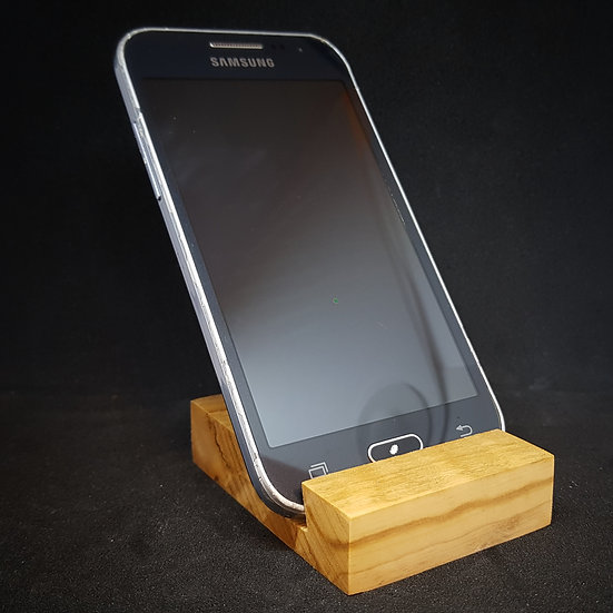 Olive wood mobile stand !