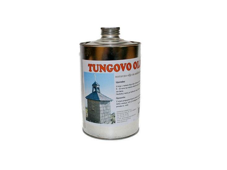 TUNG OIL natural oil finish 1 l