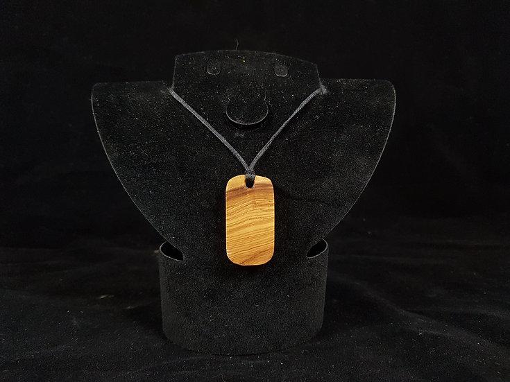 Olive wood necklace #8