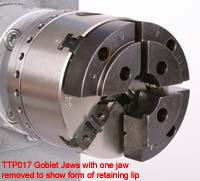 Versa goblet jaws 38-75mm TTP017