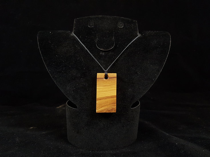 Olive wood necklace #20