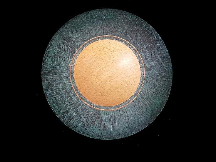 Green texturing Platter