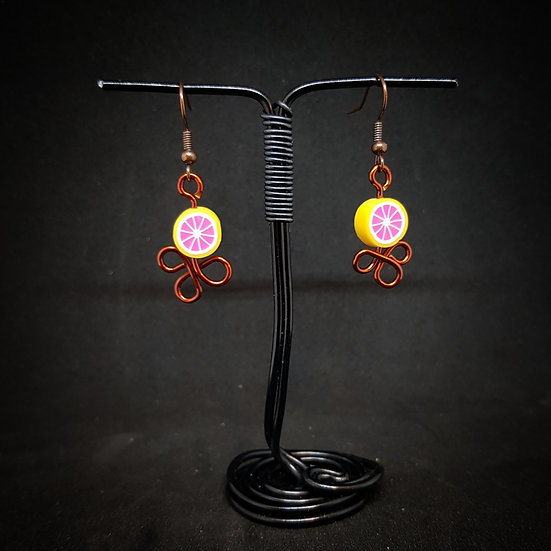 Oranges earrings