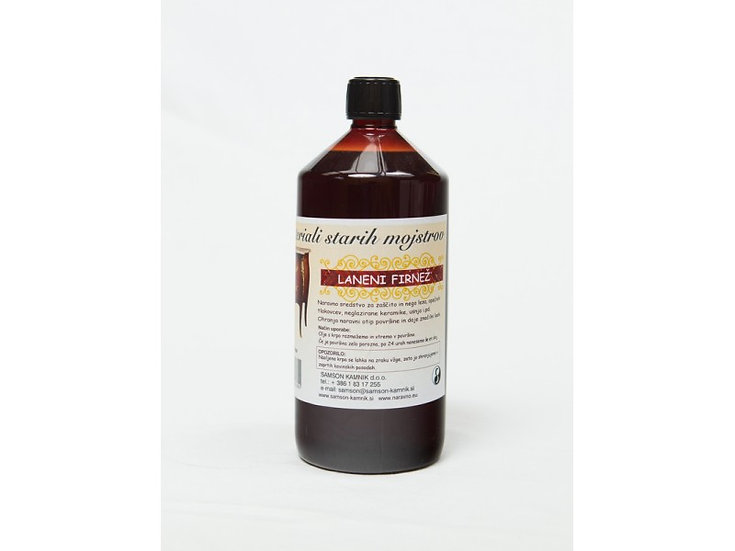 LINSEED OIL boiled 1 l
