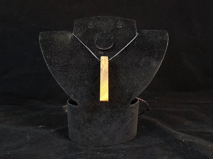 Olive wood necklace #4