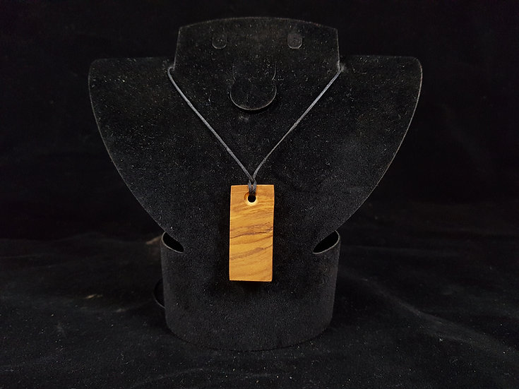 Olive wood necklace #13