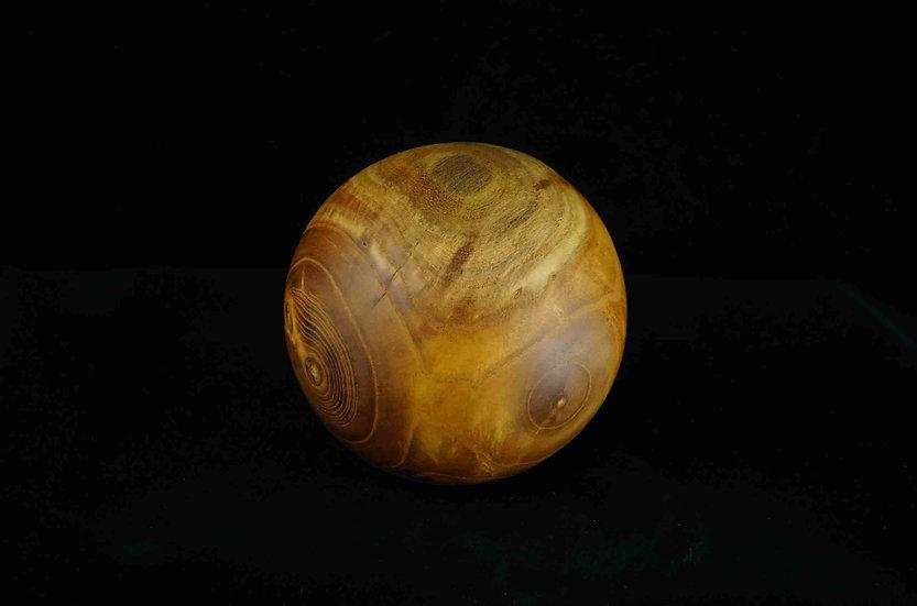 Acacia wooden ball