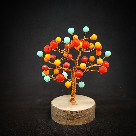 Multi colour tree of life