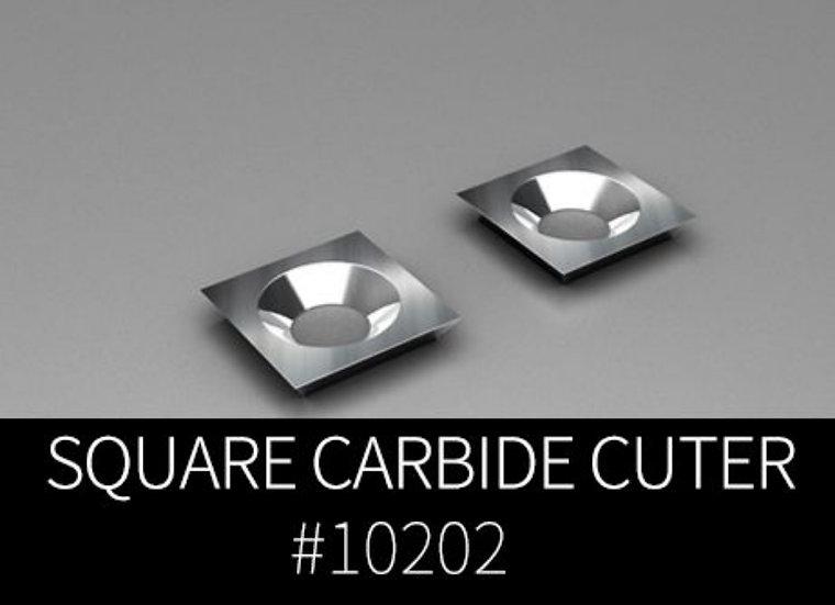 Square carbide cutter