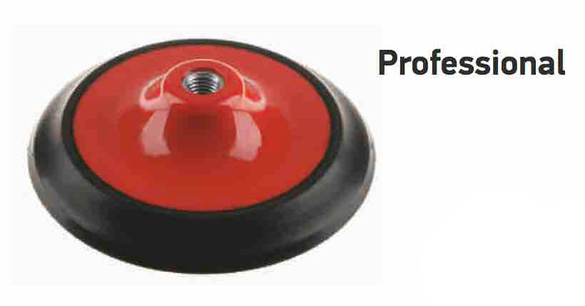 φ125 Professional PU backing pad for angle orbital sanders