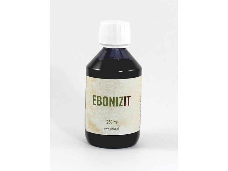 EBONIZIT black polish 250 ml