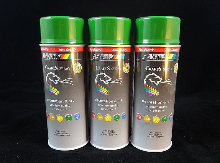 GREEN SPRAY CRAFTS MOTIP 400ml
