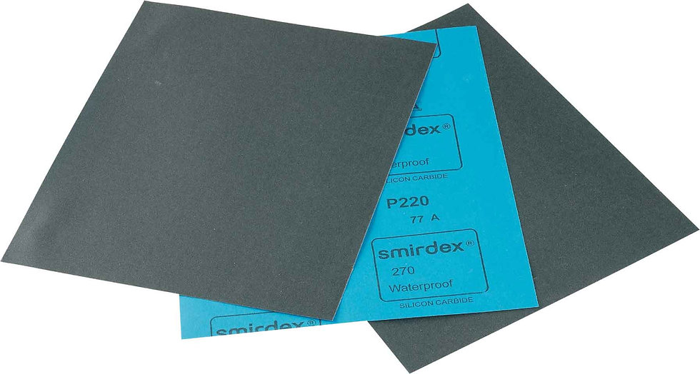 P400 Water proof abrasive paper