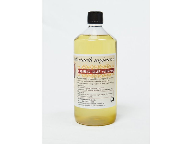 LINSEED OIL refined 1 l