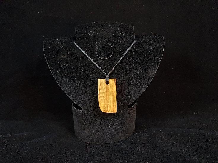 Olive wood necklace #2