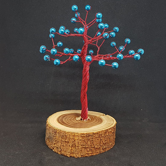 Blue and red tree of life