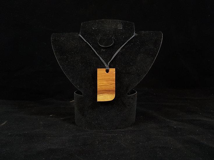 Olive wood necklace #11