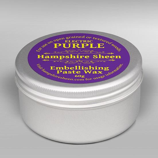 Electric Purple Embellishing Wax