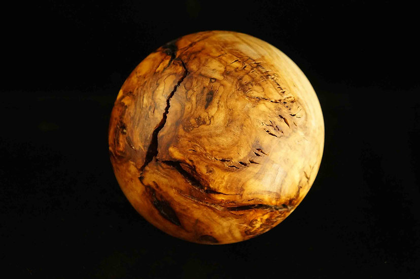 olive root wooden ball