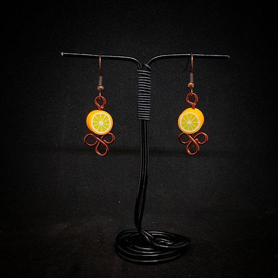 Oranges earrings