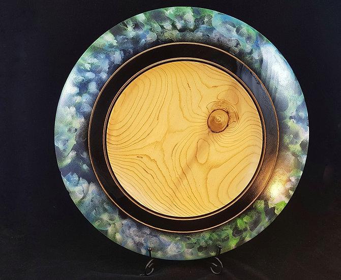 Iridescent colour Platter