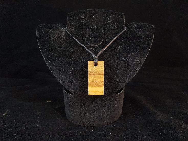 Olive wood necklace #3