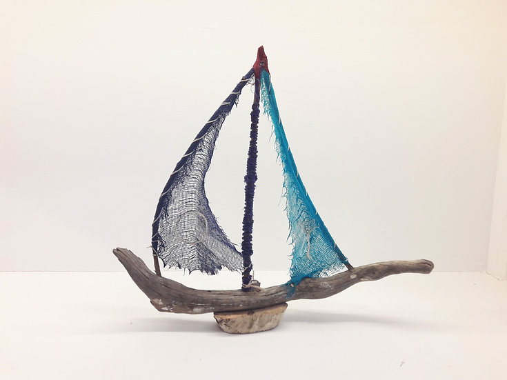 Driftwood sailboat #4