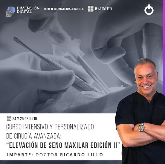 CIRUGÍA AVANZADA: ELEVACIÓN DE SENO MAXILAR EDICIÓN  II