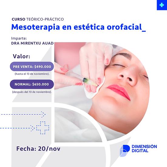 Mesoterapia en estética orofacial