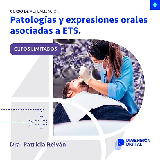 Patologías y expresiones orales asociadas a ETS