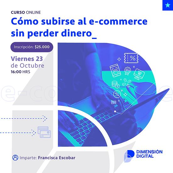Cómo subirse al e-commerce sin perder dinero