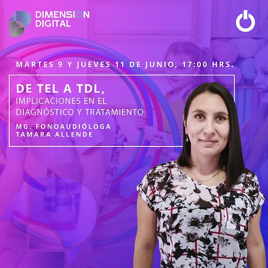 De TEL a TDL. Diagnóstico y tratamiento