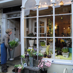Flower Shop, Woodstock, England