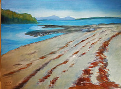 Frenchman's Bay.  Oil on Canvas