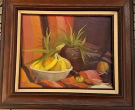 Still Life.  Oil on Canvas