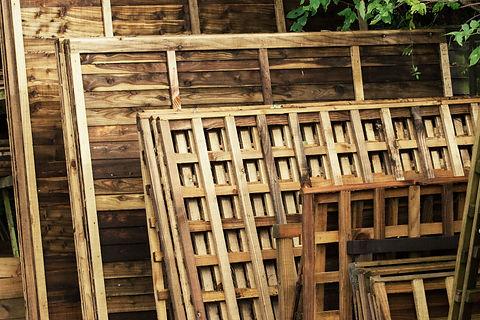Cornish fencing panels and trellis