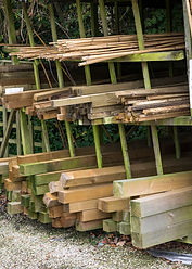 Fence posts, tree stakes