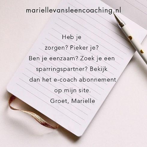 Marielle van Sleen Coaching
